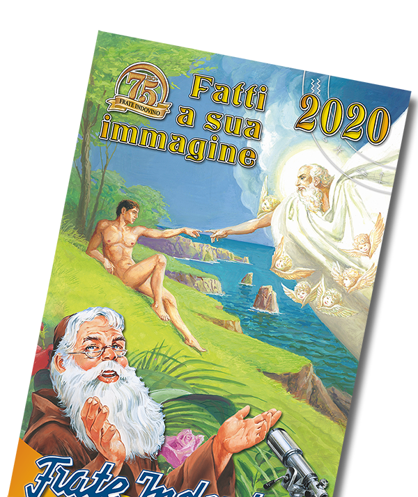 Calendario da parete 2020